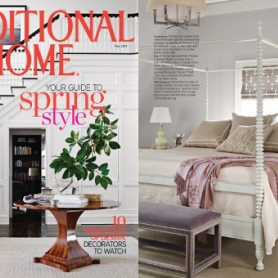 Lili Alessandra Featured in Traditional Home