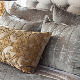 How To Mix Gold and Silver With Your Bedding